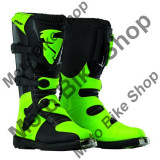 MBS Cizme motocross Thor S5 Blitz, negru/verde, 43, Cod Produs: 34101444PE