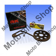 MBS Kit lant RK 428H, pinion fata 14Z, pinion spate 49Z Yamaha SR125 1996-2002, Cod Produs: 7287055MA - Kit lant transmisie Moto