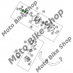 MBS Semering pompa apa KTM 620 LC4/EXC/SX 640 LC4/Duke 15X24X7 A-DUO, Cod Produs: 0760152472KT - Simering pompa apa Moto
