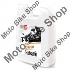 MBS Ulei moto 4T Ipone 15.5 (15W50) Sintetic - JASO MA2 - API SL, 4L, Cod Produs: 800063IP - Ulei motor Moto