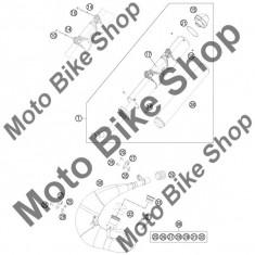 MBS Vata final toba KTM 200 EXC 2011 #38, Cod Produs: 54805078315KT - Vata minerala esapament Moto