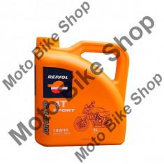 MBS Ulei Repsol Sport 4T 10W40 4L, Cod Produs: 004728 - Ulei motor Moto