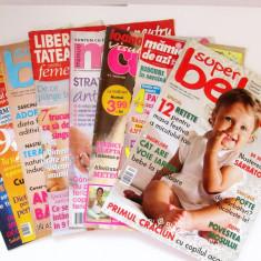 Set 8 reviste pentru cresterea copiilor mama sarcina bebelusi reviste femei V3 - Revista femei