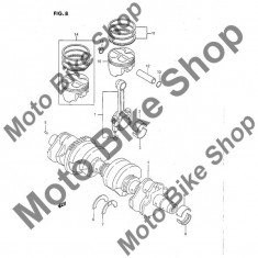 MBS Cuzinet (verde) axial ambielaj 1997 Suzuki Katana (GSX750F) #7-2, Cod Produs: 1222848B000E0SU - Cuzineti Moto