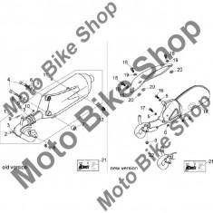 MBS Garnitura toba Aprilia Mojito Custom 50 2T (eng.Piaggio) 04-08 #13, Cod Produs: AP8219321PI - Garnitura toba Moto