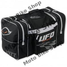 MBS Geanta voiaj mare Ufo Plast, negru-alb, Cod Produs: MB02238W - Rucsac moto