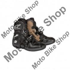 MBS Cizme moto Alpinestars TECH2, negru, 11=45.5, Cod Produs: 2018071011AU - Cizme barbati