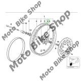 MBS Spita dreapta roata fata BMW F650, L=224mm, Cod Produs: 36312345820BM
