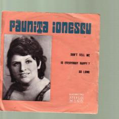 Vinil - Paunita Ionescu, electrecord