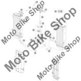 MBS Buson radiator 1,8 BAR KTM 125 EXC 2010 #9, Cod Produs: 77335016000KT