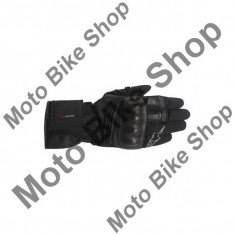 MBS Manusi impermeabile piele Alpinestars Valparaiso Drystar, negru, XL=11, Cod Produs: 352601410XLAU