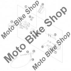MBS Garnituri pistonas etrier spate KTM 250 SX 2011 #2, Cod Produs: 50313081200KT - Etrier frana Moto