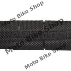 MBS Mansoane cross/enduro Domino negre/ lungime-118mm, Cod Produs: 184160460RM - Mansoane Moto
