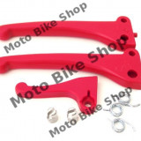 MBS Set manete rosii Piaggio moped, Cod Produs: 5895-R