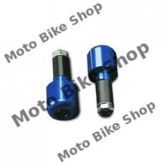 MBS Capeti ghidon Al., albastrii MCL200B, Cod Produs: 7651813MA - Capat ghidon Moto