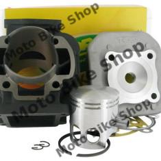 MBS Set motor+chiuloasa Aprilia/Minarelli/Yamaha AC vertical D.47 TOP, Cod Produs: 9909620 - Motor complet Moto