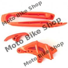 MBS Kit patina+ghidaj bascula lant portocalie KTM SX, Cod Produs: KT04005127 - Brat - Bascula Moto
