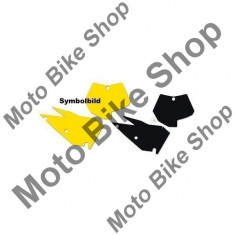MBS Set abtibilde pentru numere start KTM EXC 2+4T/08-11, alb, Cod Produs: BB351510AU - Stikere Moto