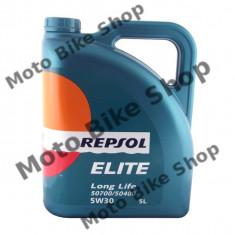 MBS Ulei Repsol Elite Long Life 50700/50400 5W30 5L, Cod Produs: 543050 - Ulei motor Moto
