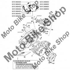 MBS Garnitura carter 0, 5MM KTM 250 EXC 1998 #33, Cod Produs: 54630039200KT - Set garnituri motor Moto