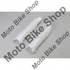 MBS Protectii telescoape fata Kawasaki KXF250 2009-10, alb, Cod Produs: KA04701280 - Carene moto