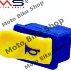 MBS Buton claxon galben Piaggio NRG/Gilera, Cod Produs: 246130010RM - Claxon Moto