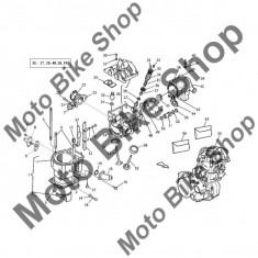 MBS Garnitura pompa apa Husqvarna TE610 2009 #44, Cod Produs: 8A0063644HU - Pompa apa Moto