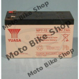 MBS Baterie moto 12V7AH / NP7-12 / Yuasa, Cod Produs: 7071681MA
