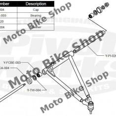 MBS Kit reparatie brate superioare Yamaha Raptor 660/700, Cod Produs: PWAAKY05000UVP - Pivoti ATV