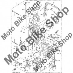 MBS Valva carburator 1998 Yamaha WR400FK #12, Cod Produs: 4FN145460100YA - Kit reparatie carburator Moto