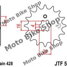 MBS Pinion fata Z15 428 Yamaha DT80 LC '83-'7, Cod Produs: 7262751MA - Pinioane transmisie Moto