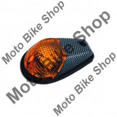 MBS Set semnalizari montare pe carene, carbon, Cod Produs: 10033541LO - Semnalizatoare Moto
