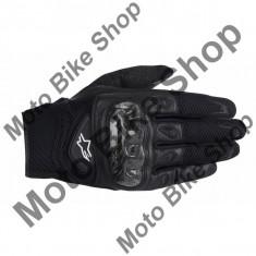 MBS Manusi textile Alpinestars SMX Carbon, negru, M=9, Cod Produs: 356771410MAU
