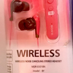 Casti Sony MDR cu dispozitiv Bluetooth Sony Hands-free, Casti In Ear