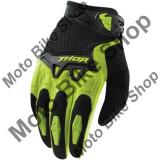MBS Manusi copii motocross Thor Spectrum, verde, M, Cod Produs: 33320906PE