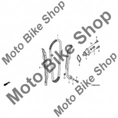 MBS Lant distributie 2004 Honda CRF250R, L104 #1, Cod Produs: 14401KRN671HO - Lant distributie Moto