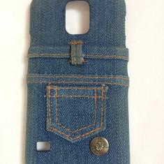 Husa - Carcasa telefon Samsung Galaxy S5 - blug - Husa Telefon, Alb