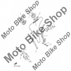 MBS Patina mobila lant distributie 2003 Yamaha WR450F (WR450FR) #9, Cod Produs: 5TA122520000YA - Intinzator lant moto