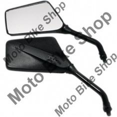 MBS Set oglinzi Trim Line Emgo 10mm, neagre, Cod Produs: 2097110PE - Oglinzi Moto