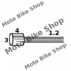 MBS Cablu acceleratie ciclomotor 130cm (punga 10 buc.-pret/1buc.), Cod Produs: 163510031RM - Accesorii Cabluri Moto
