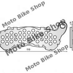 MBS Placute frana Honda CB Hornet 600 '07>/ Suzuki Burgman 125-200 '07>, Cod Produs: 225102550RM - Piese electronice Moto