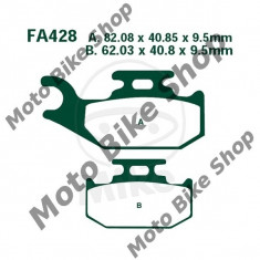 MBS Placute frana EBC Yamaha YFM 700 RV Raptor 2006-2012, Cod Produs: 7322357MA