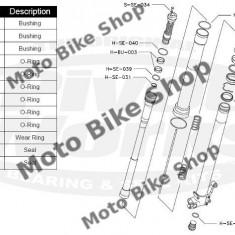 MBS Kit reparatie furca Suzuki RMZ 250 2007-2012, Cod Produs: PWFFKS13021VP