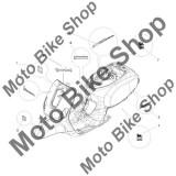MBS Emblema Vespa LX 125 4T 3V Ie 2012 - 2013 #5, Cod Produs: 656026PI