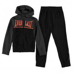 Trening Everlast Original pentru copii din bumbac pantalon si hanorac, Marime: S, M, L, Culoare: Gri, Baieti