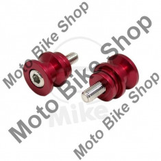 MBS Set suruburi suport stender spate, M8 x 1, 25 x 25mm, pentru stender spate cu prindere V, Cod Produs: 7224181MA - Elevator motociclete