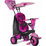 Tricicleta bebelusi Smart Trike Flamingo 4 in 1