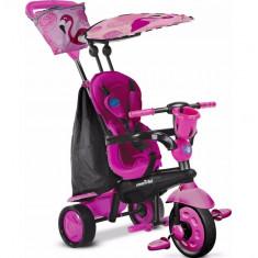 Tricicleta bebelusi Smart Trike Flamingo 4 in 1 - Tricicleta copii