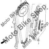 MBS Patina fixa lant distributie 1994 Honda XR250R #6, Cod Produs: 14620KK1000HO