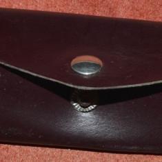 Portchei vintage din piele - Portofel Barbati